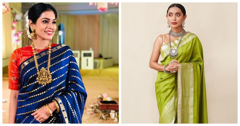 6 Necklaces to Pair with Your Stunning Silk Saree!