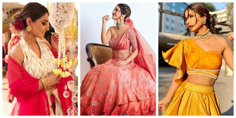 10 Times Hina Khan gave us major bridesmaids goals!