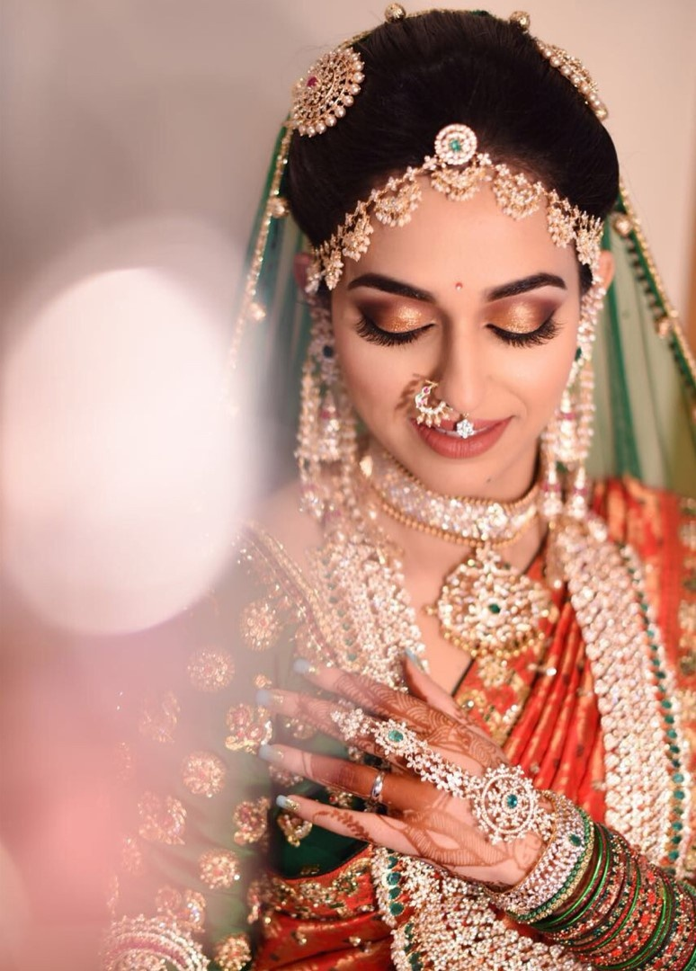 The South Indian bride that ditched gold for diamonds
