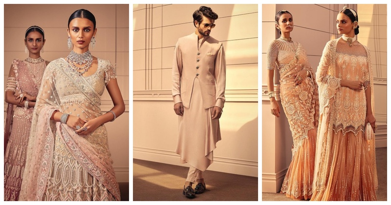 Tarun Tahiliani has unveiled his SS'19 Collection and I can't keep calm!