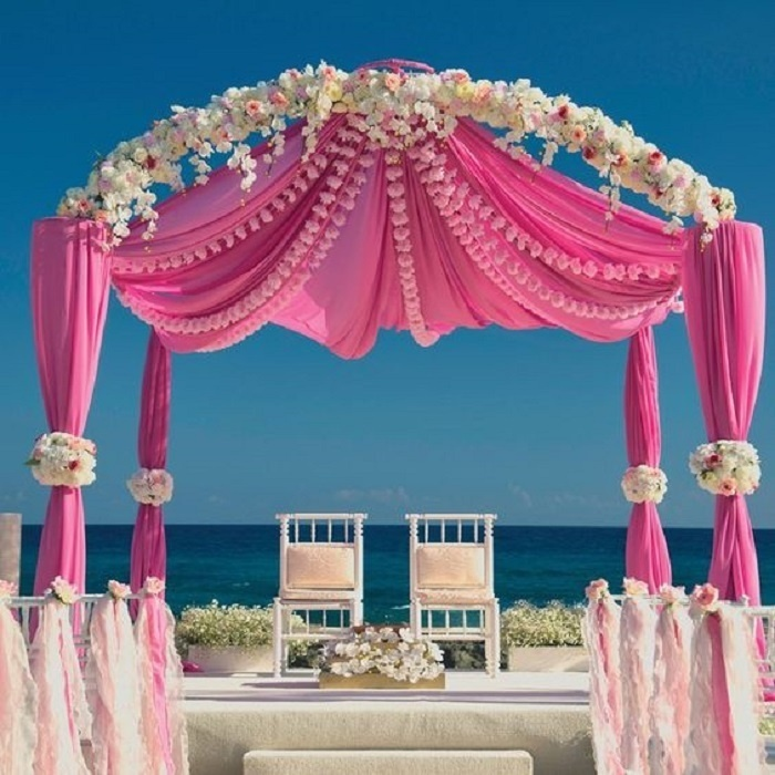 The Most Gorgeous Outdoor Wedding Mandap Decoration Ideas We Came