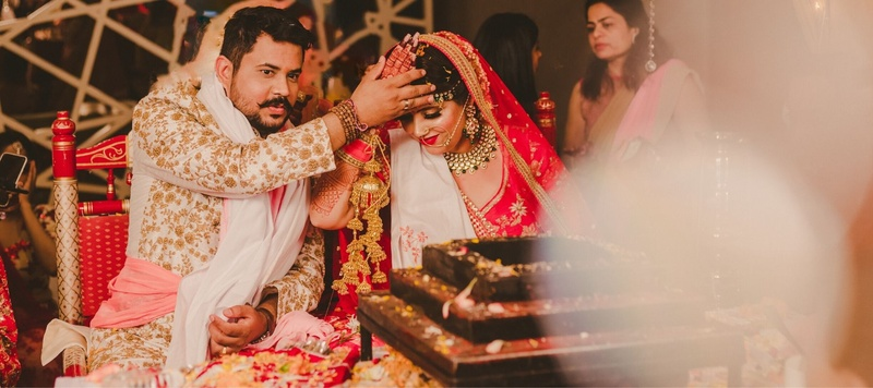 Niraj & Heena Ahmedabad : The love story of a couple where a cup of tea sealed the deal!