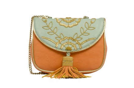 Rossoyuki Orange Mint Bag Clutch