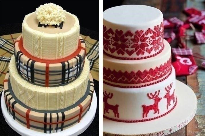 SWEATER / KNIT WEDDING CAKE