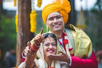 Cutest couple- Megha and Shravan