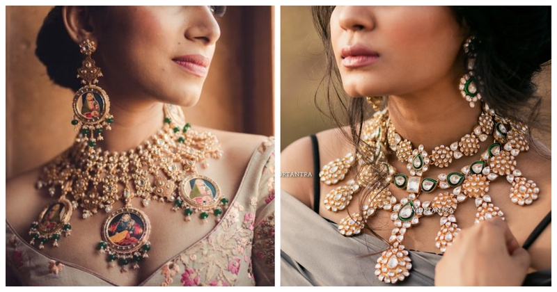 15 off-beat bridal necklaces that'll leave you spellbound!