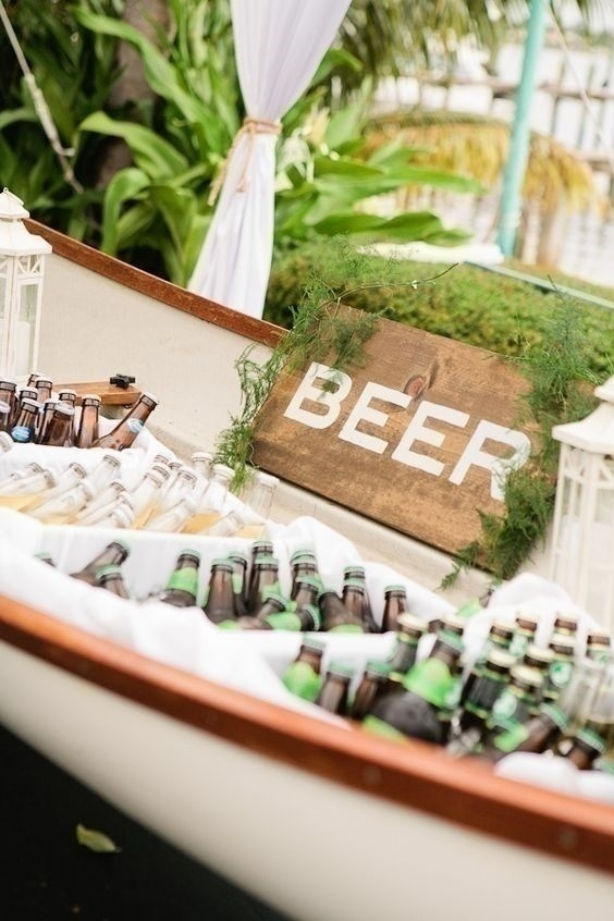 A Beer Is Good, but Beers Are Better: Offer Your Guests a Beer Tub to Dive In