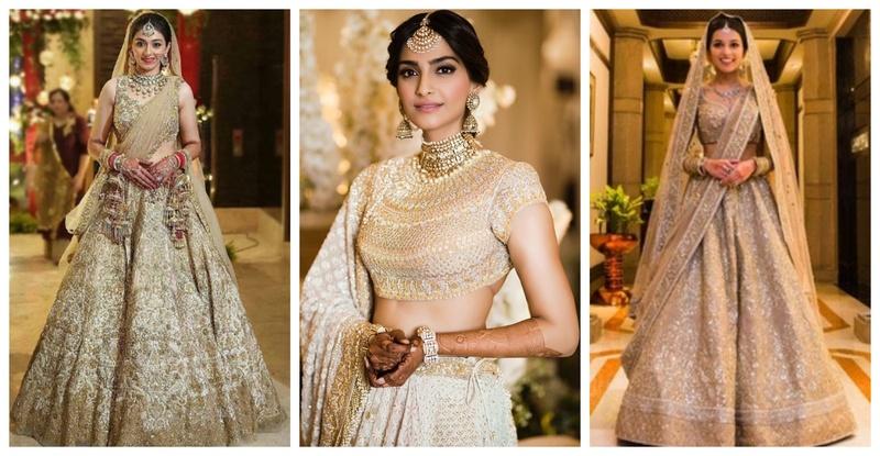 20 Golden Bridal Lehenga Styles for this Wedding Season!