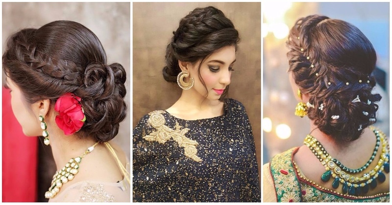 6 Braided Bun Hairstyles That Are Simply Ah-mazing For Indian Wedding Functions!