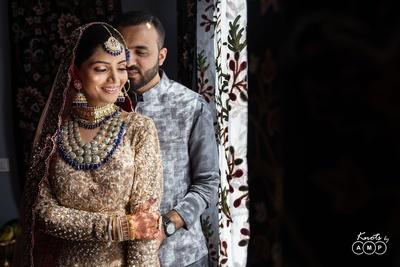 The newly-weds, Ain and Sarmad!