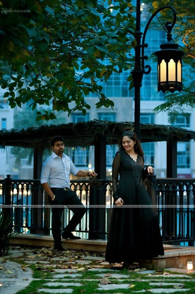 Black floor length V necked fulsleeves Anarkali gown