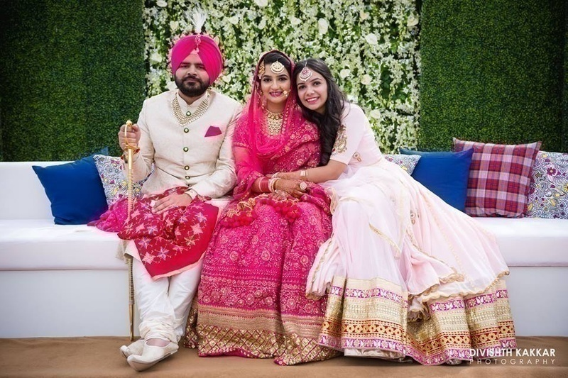JW Marriott Engagement with a Stunning Wedding held at Forest Hill Resort, Chandigarh!