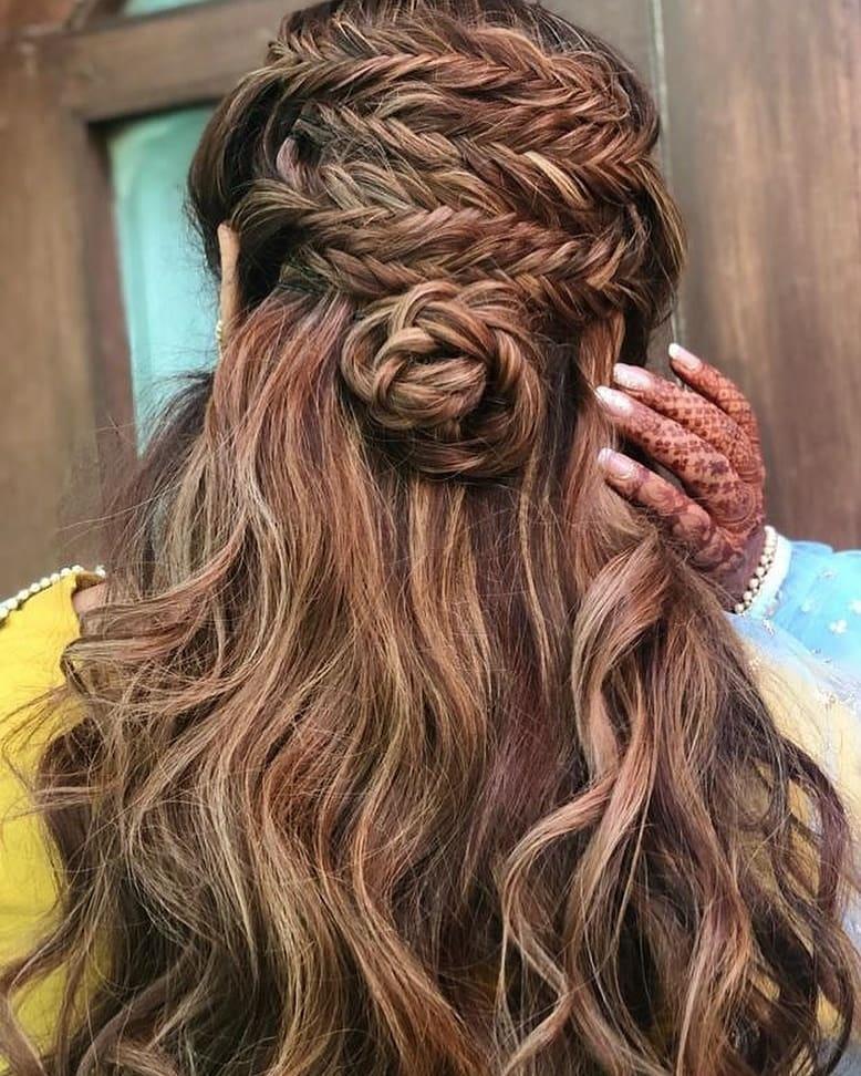 Hair Style Wedding Open Hair