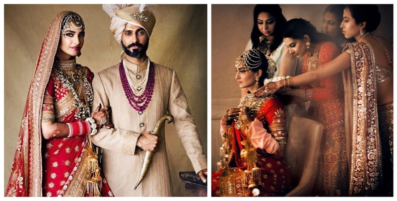 These Unseen Pictures from Sonam Kapoor's Wedding will Literally Melt Your Heart!
