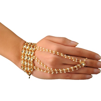 Imli Street Ring and Hand Bracelet