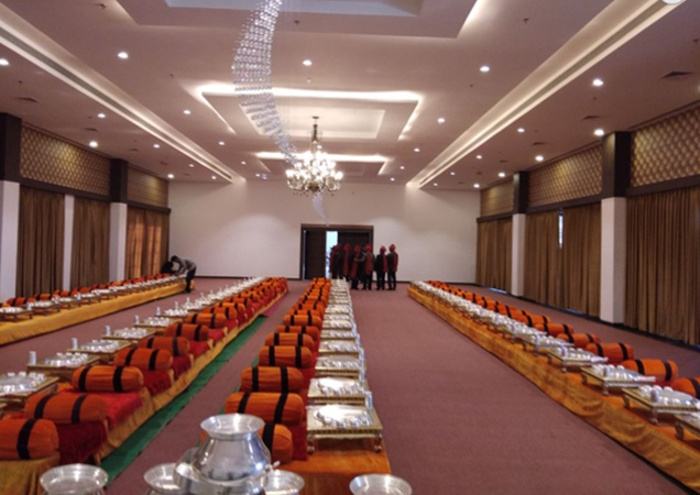Hotel HR Greens MR 10 Road Indore - Banquet Hall