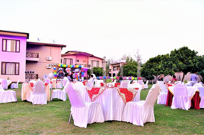 Alaya Resorts And Spa Ramnagar Jim Corbett - Banquet Hall