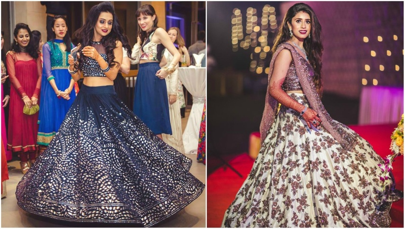 10 Stunning Sangeet Outfits From Real Brides!