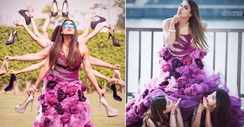 20+ Fun & Quirky Wedding Photos to take with your Bridesmaids!