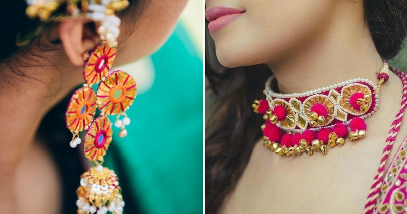What to wear on your haldi and mehendi apart from floral jewellery!