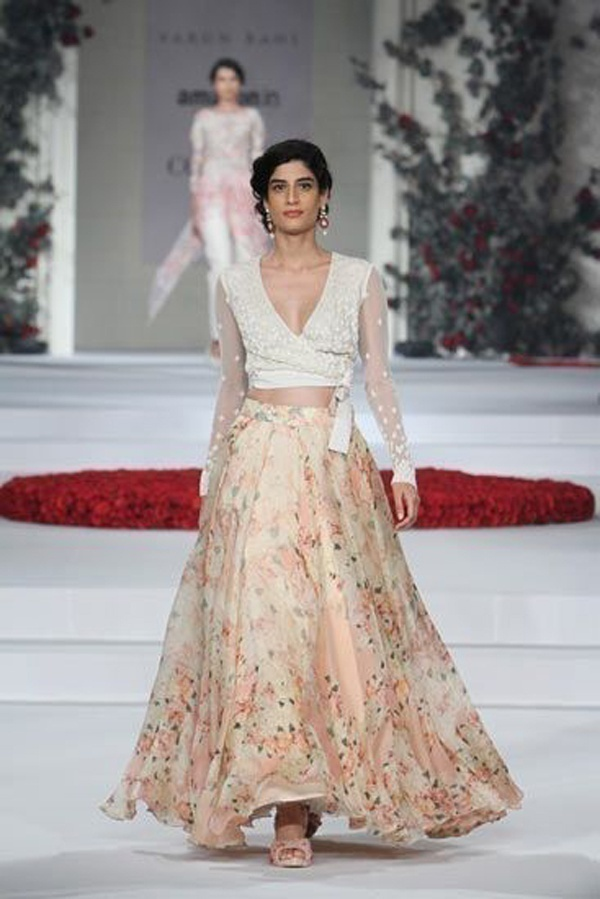 Super trendy summer wedding lehenga for brides by designer Varun Bahl