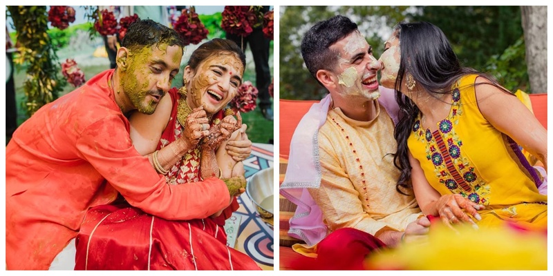 10 Beautiful Haldi Moments