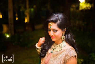 Bridal shoot at the engagement