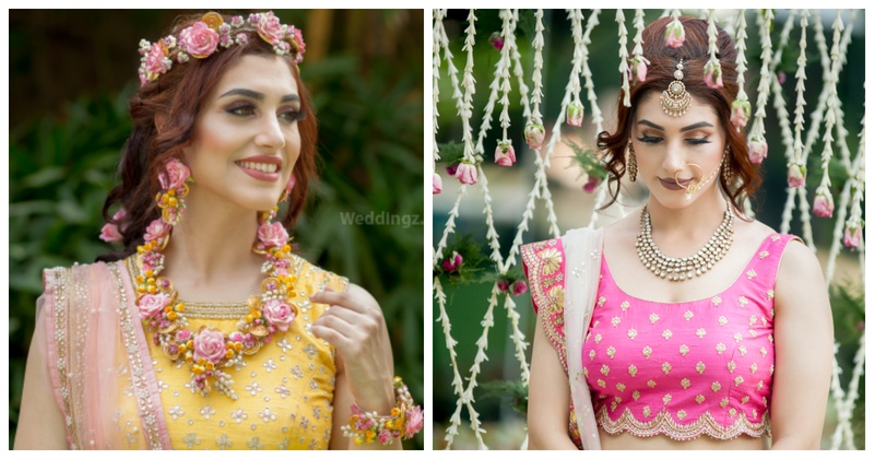 From floral jewellery to phoolon ki chaadar & varmalas - the most gorgeous & trending floral elements for your wedding!
