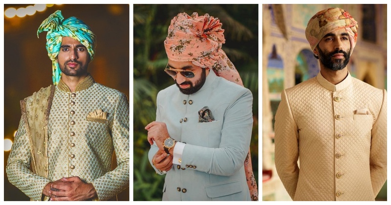 10 Dapper Safa designs that will give you major #GroomGoals!