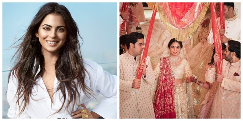"""I Cried at my Vidaai only due to peer pressure"" – Says Isha Ambani as she opens up about Life After Marriage!"