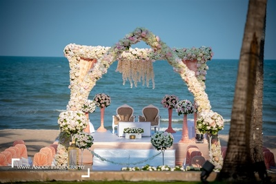 The stunning venue of the wedding