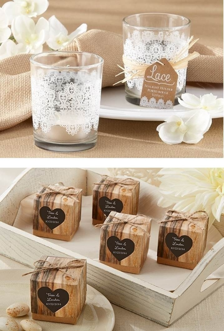 RUSTIC-CHIC WEDDING FAVOURS