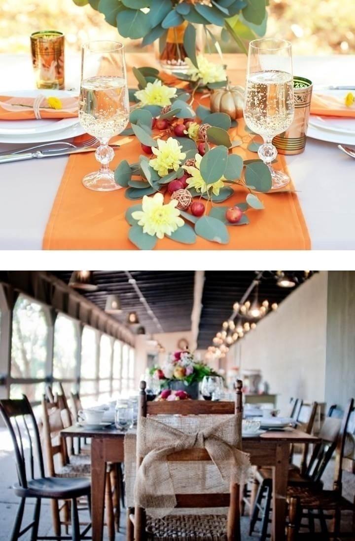 WEDDING TABLESETTINGS