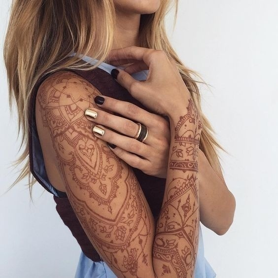 Gorgeous Bridal Mehndi Designs for Your Arms