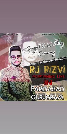 RJ Rizvi | Delhi | Anchor Mc
