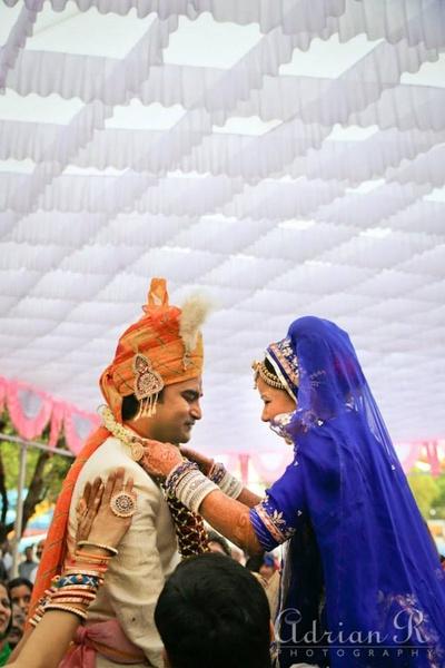 Jaymala ceremony