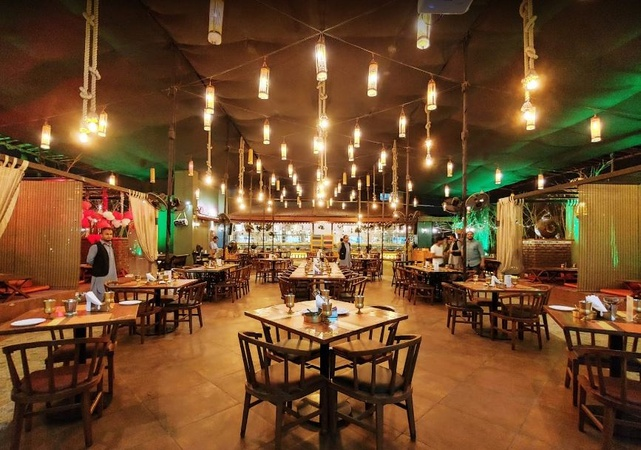 Chaubara 601 Thane West Mumbai - Banquet Terrace