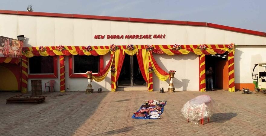 New Durga Marriage Hall Rukanpura Patna - Banquet Hall