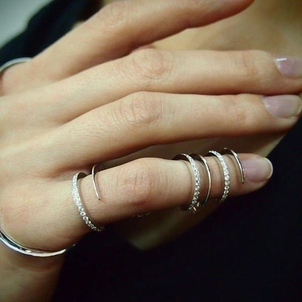 long finger rings for stylish indian brides blog