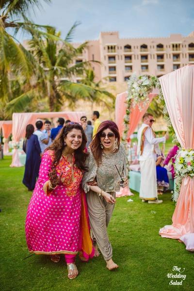 Wedding guests enjoying the destination wedding organized by Shaadi Squad
