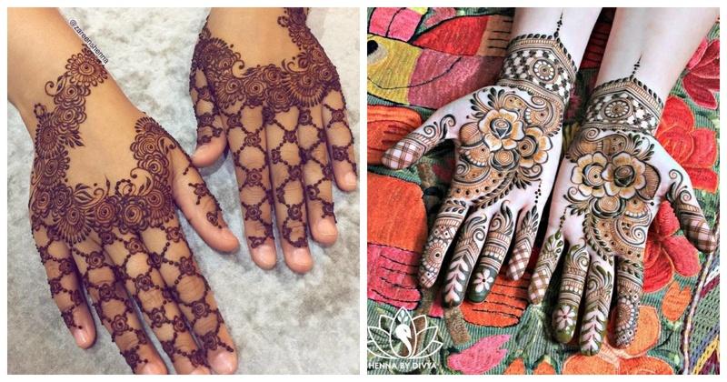 This Eid, Try these 10 Gorgeous Arabic Mehendi Designs!