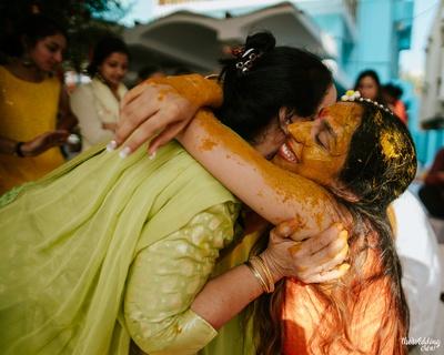 Haldi Ceremony of Mala