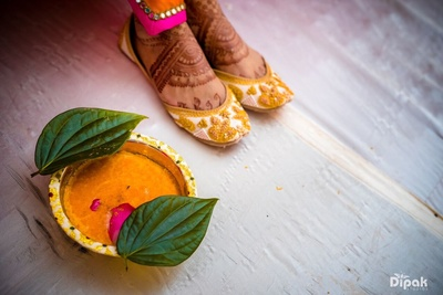 Haldi function for the Bride and Groom