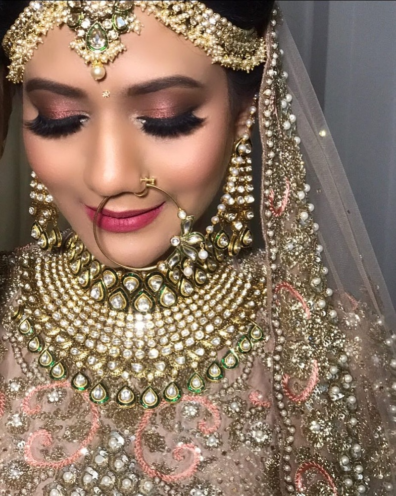 indian wedding day makeup pictures | saubhaya makeup