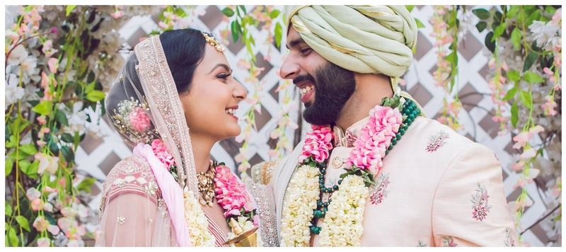Gurpreet & Pankhuri Chandigarh : From bright yellows to the mellow pastels, Pankhuri and Gurpreet's wedding was a riot of colours!