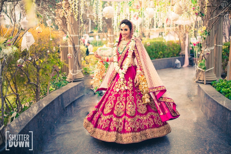 3736da06c3 10 Wedding Lehenga Trends of 2017 That Every Indian Bride Must Know!  #BridalTrends