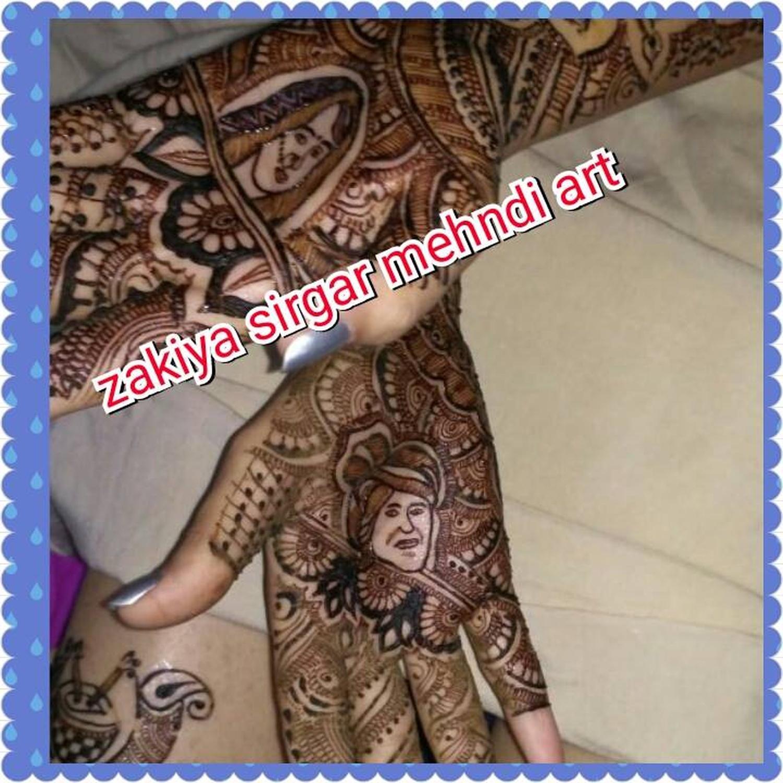 Bridal Mehndi In Ahmedabad : Zakiya award winner professional bridal mehndi artist