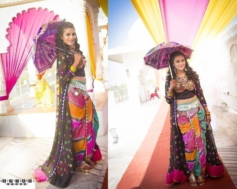 QUIRKY RAJASTHAN-INSPIRED MEHNDI FUNCTION