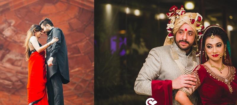 Hitesh & Richa Mumbai : Gorgeous Delhi Wedding with Outfits that Inspire
