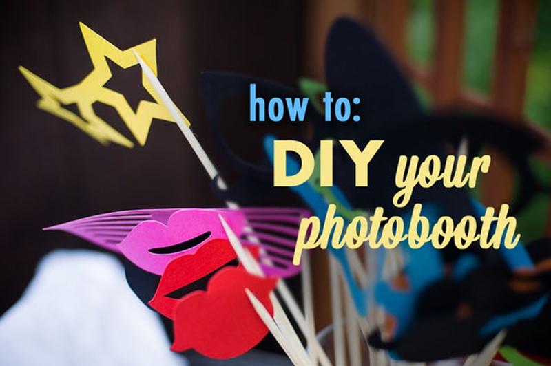 Creative DIY Wedding Photo Booth Ideas